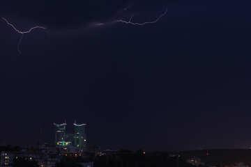 Молния в городе №44464