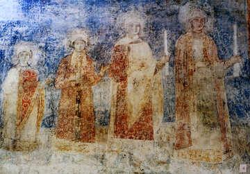 Vintage fabric 11-13th century №44081