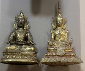 Ancient figures Buddhas №44220