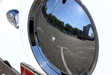 Retro car spare wheel №44424