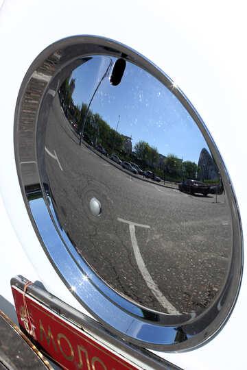 Retro car spare wheel №44425