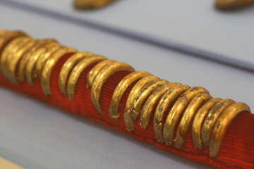 Antique gold items №44186