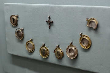 Golden icons amulets №44099