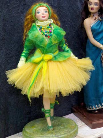 Doll dancer №44572