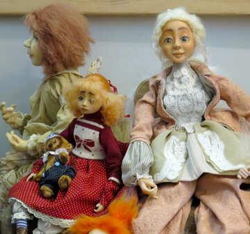 Handmade Dolls №44593