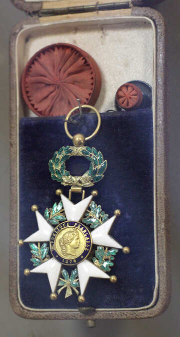 Cross of the Order of the Legion of Honor in 1870  №44219