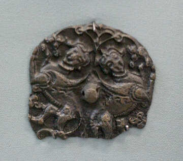 Fragment of an old ornament for horses №44147