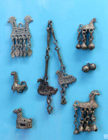 Antique jewelry horse №44046