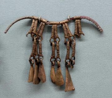 Horse brooch №44144