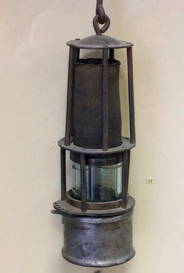 The old miner`s lantern №44270