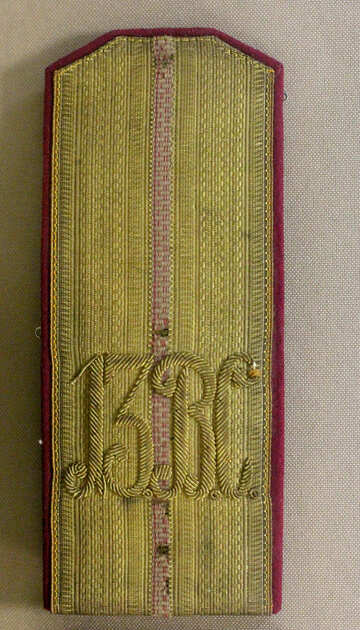 Texture soldier epaulettes №44256