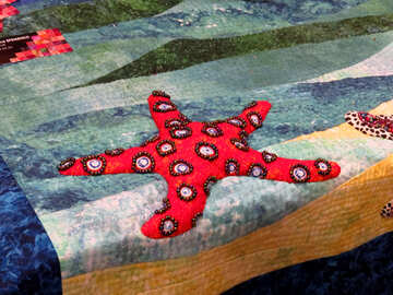 Children pattern on fabric №44533