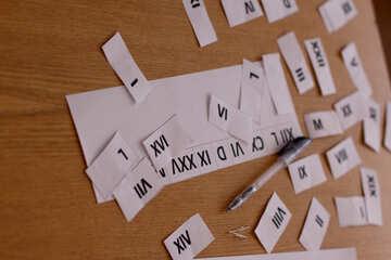The study of Roman numerals №44331