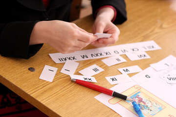 The study of Roman numerals №44336