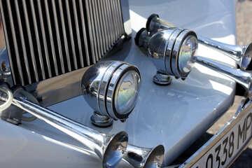 Retro car headlight №44373