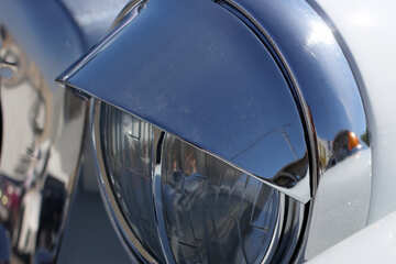 Retro car headlight №44403