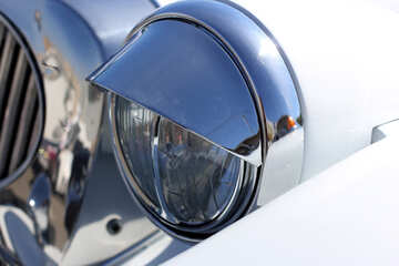 Retro car headlight №44404