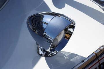 Retro car headlight №44409