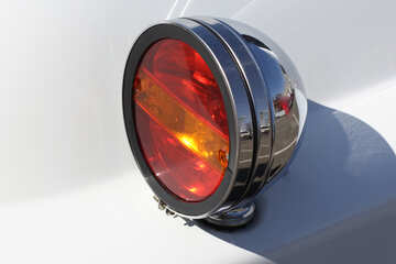 Retro car rear lights №44426
