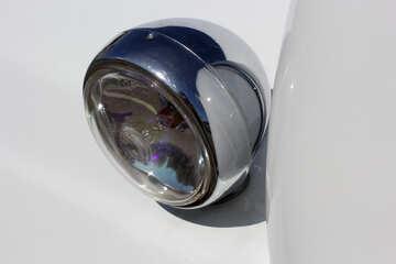 Retro car rear lights №44428