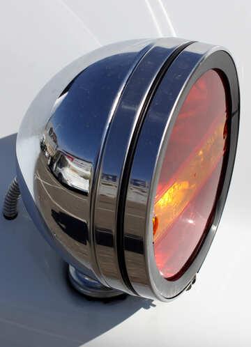 Retro car rear lights №44430