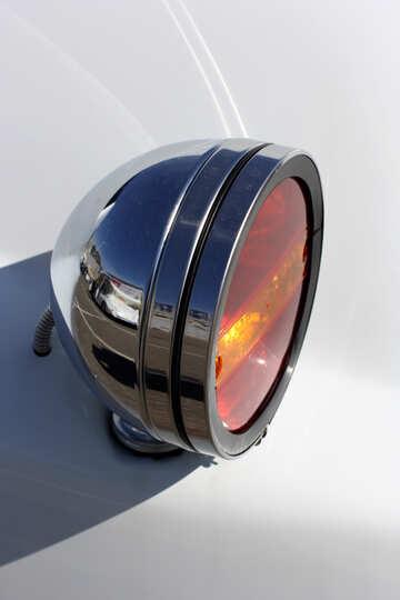 Retro car rear lights №44431