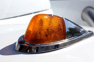 Retro car turn signal №44439