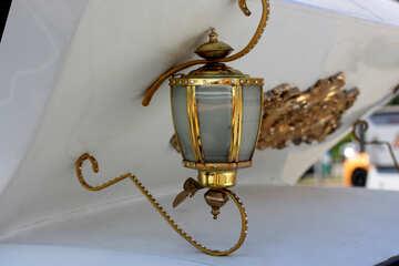 Former coach lantern №44376