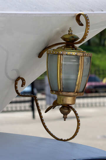 Former coach lantern №44377