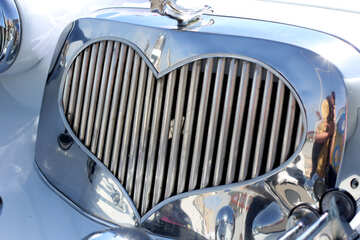 Grille heart №44407