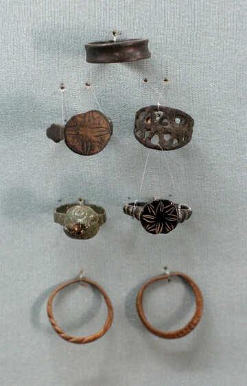 Vintage rings №44134