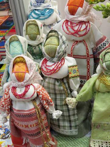 Dolls motanki №44512