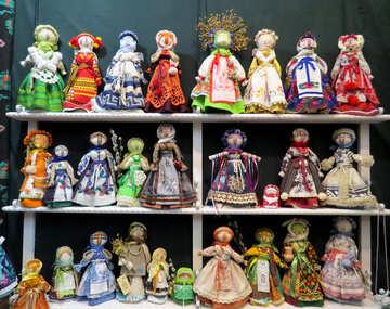 Folk dolls №44537