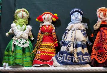Folk dolls №44538