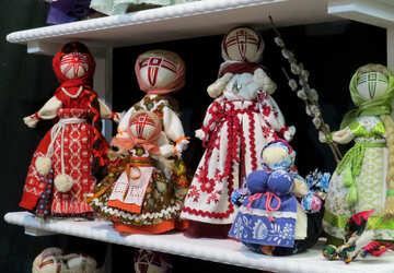 Folk dolls №44539