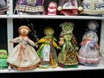 Folk dolls №44540