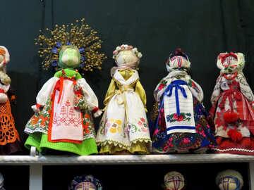 Folk dolls №44541