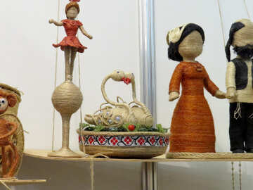 Folk dolls №44560