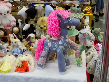 Toy funny horse №44569