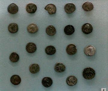 Silver coins Ukrainian 2nd century №44055