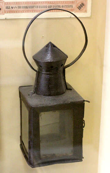 Vintage portable lantern №44271