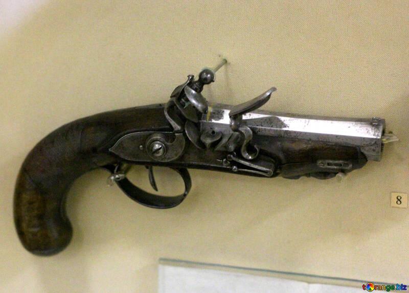 Ancient pistol №44317