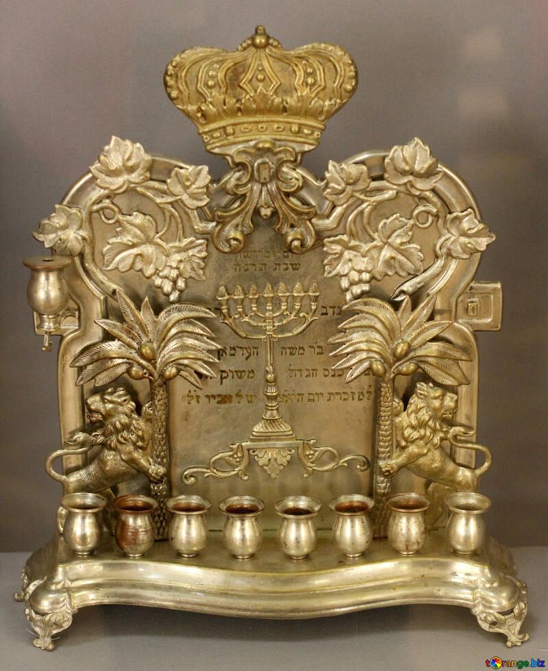 Antique candlestick №44156