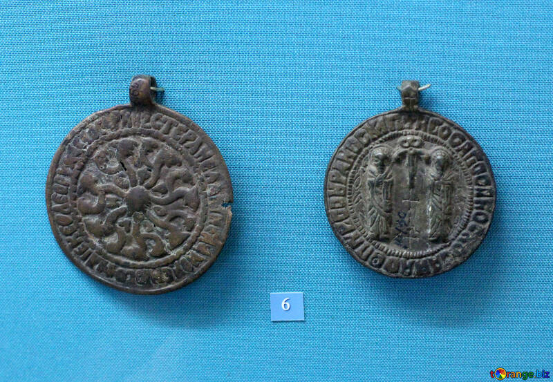 Ancient medallions 8th century №44009