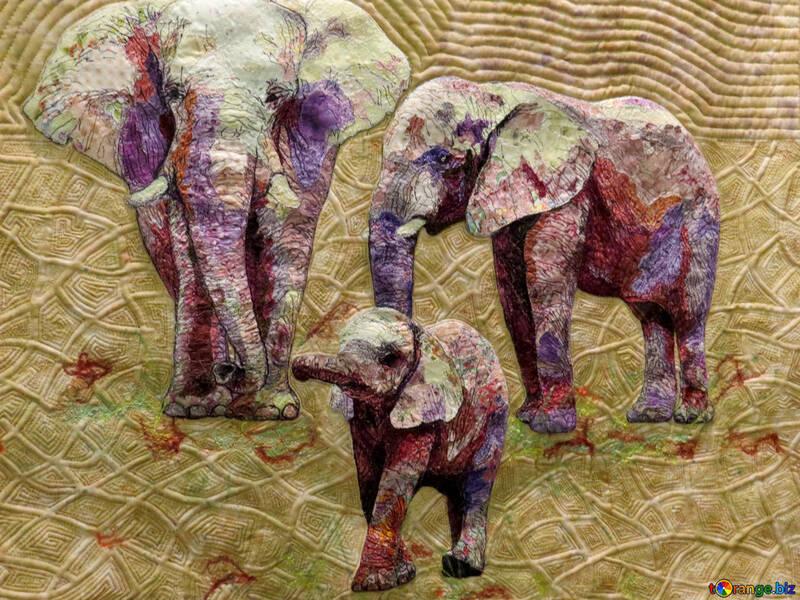 Textura dos elefantes №44534