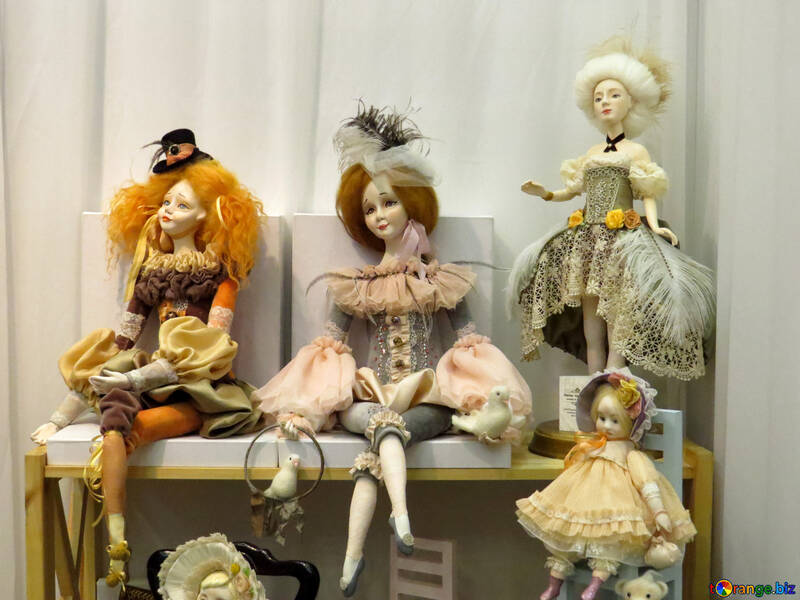 Muñecas de porcelana №44527