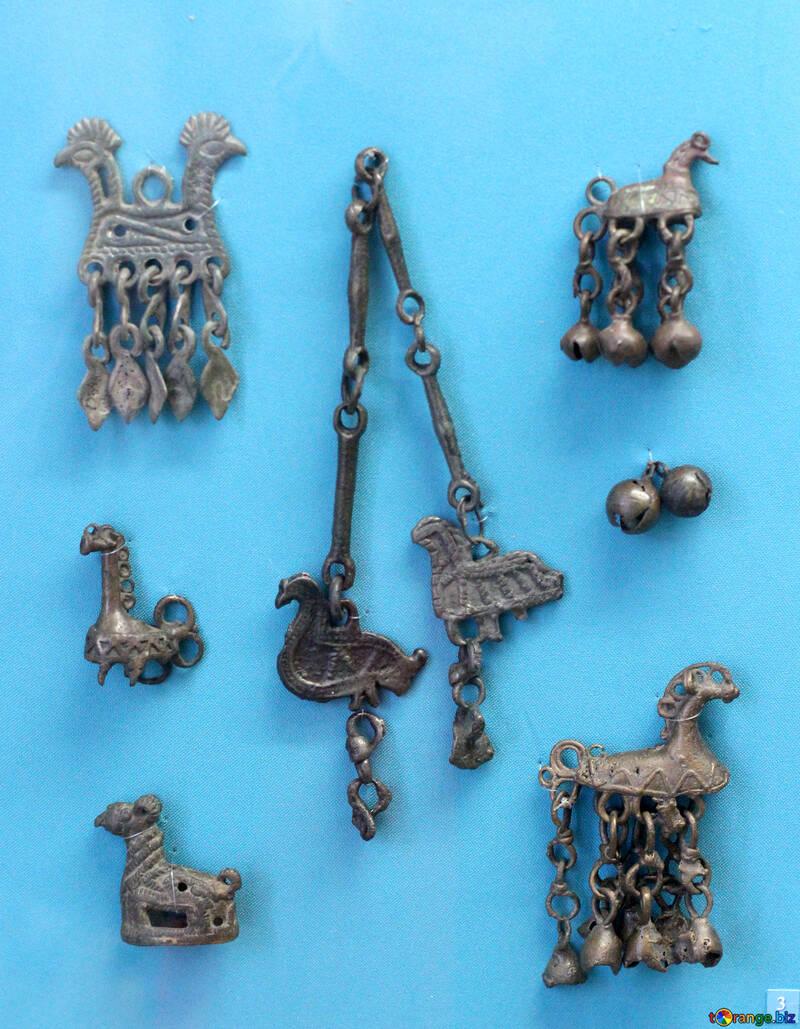 Antique jewelry horse №44046
