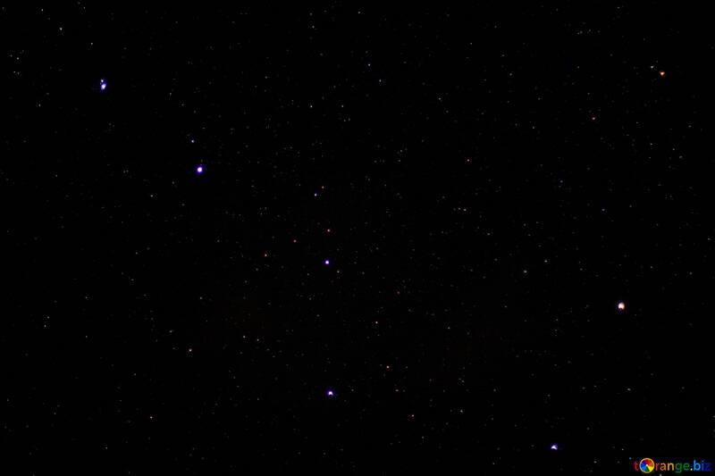 Dark night sky with stars №44700