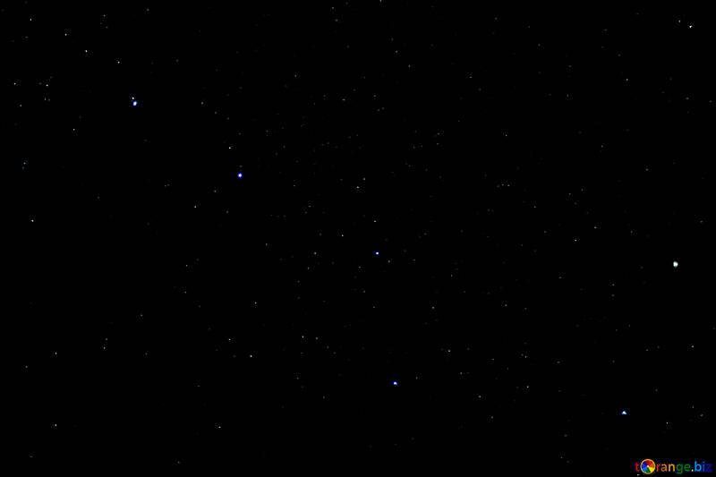 Night sky with stars №44724