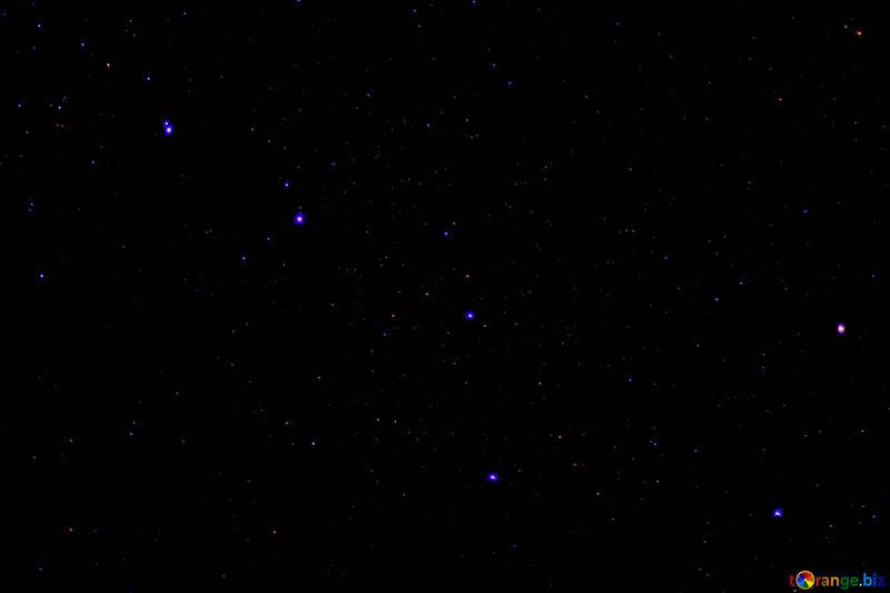 Night sky with stars №44725